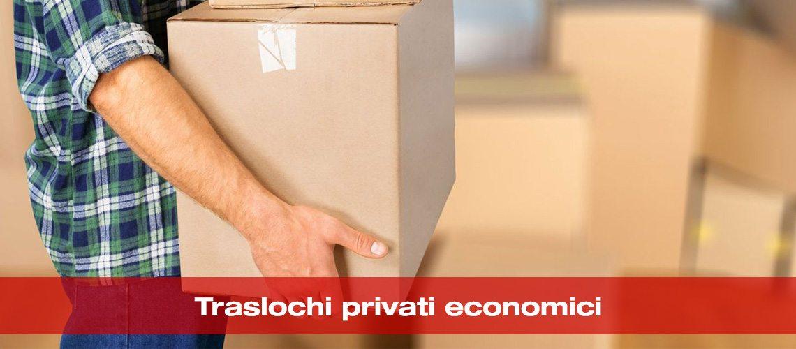 Traslochi privati economici